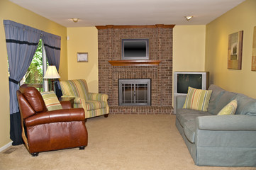 Interior Residential Living Room