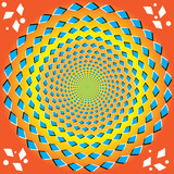 Perpetual Rotation (optical illusion) poster