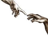 Fototapeta ręka - bożek - Sztuka Średniowieczna