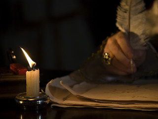 Candlelight &  Quill