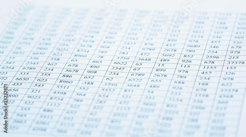 checking balance - preparation of a balance sheet - 23232871