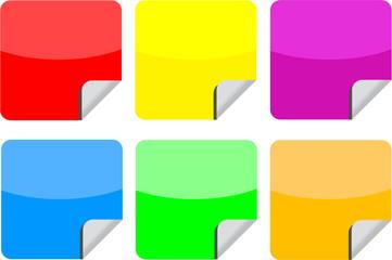Web stickers
