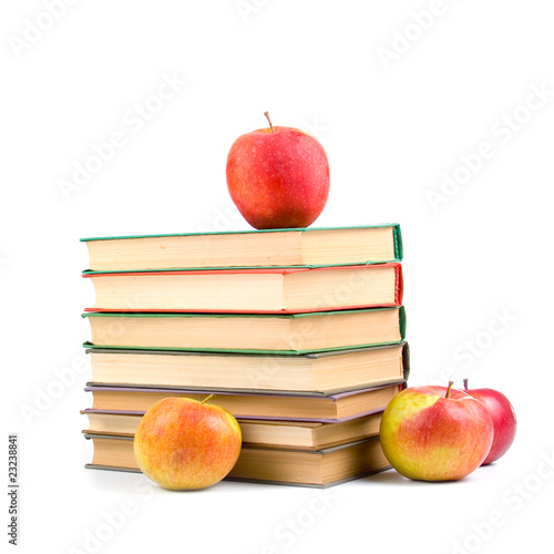 Apples and books