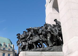 Ottawa War Memorial detail 2008