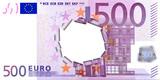 500 Euro Impact poster