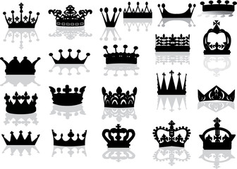 twenty on crowns with reflections