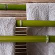 Serviettes et bambous