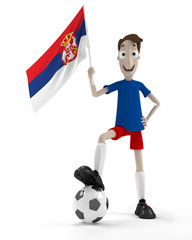 Serbian soccer player