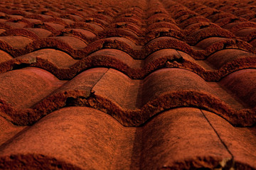 Red roof terracotta.