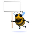 3d Bee wants to say something