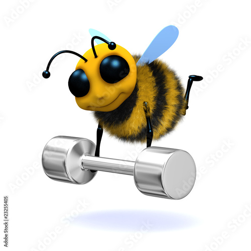 3d Bee does the physically impossible