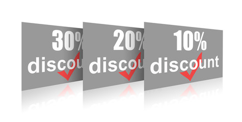 Percentage of trade discounts