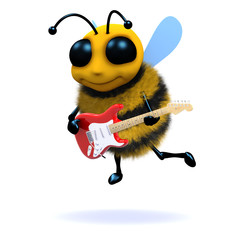 Johnny guitar honeybee (in 3d)