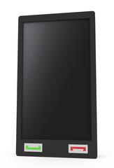 Pocket PC isolated on white