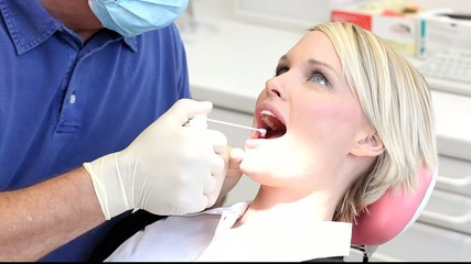 Zahnarzt - Puder
