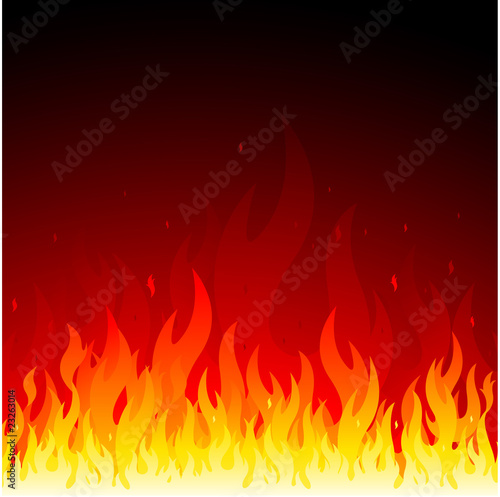 Vector fire background - 23263014