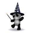 3d Teddy wizard