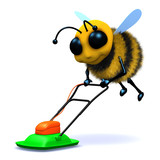 3d Hover bee! poster