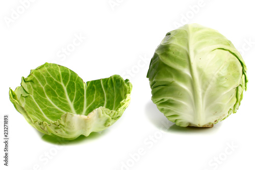 cabbage and leaf