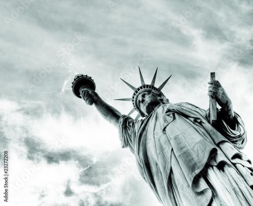 Fototapete Statue befreit