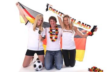 Fußball Fan Deutschland