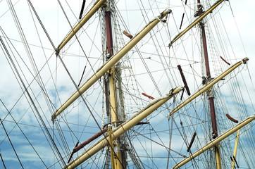 Sail Ships Rigging