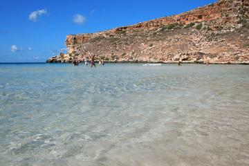 Lampedusa (Sicilia) - acqua trasparente