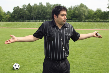 Schiedsrichter beleidigt
