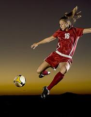 Soccer at Dusk