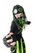 Expressive Cyber Goth guy