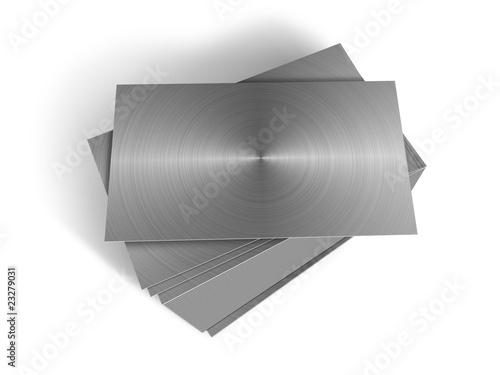Planchas de metal apiladas de pakmor imagen libre de - Planchas de metal ...