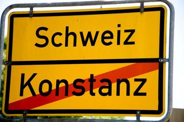 Schweizer Grenze