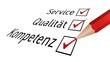 Service, Qualität, Kompetenz I
