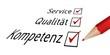 Service, Qualität, Kompetenz II