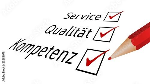 Service, Qualität, Kompetenz III