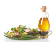 Mixed Greens Salad With Oil And Vinegar