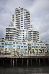 high rise apartement building