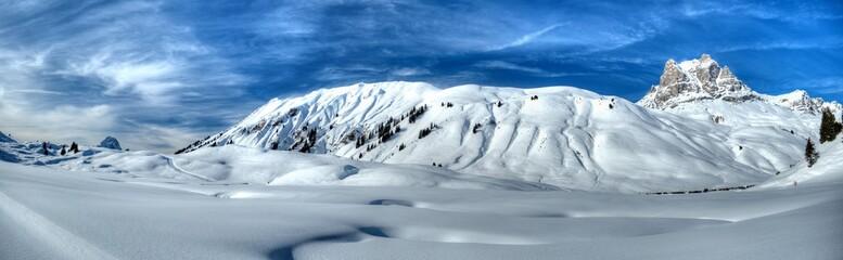 Panorama im Schnee