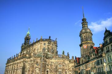 Dresden - Hofkirche / Kathedrale