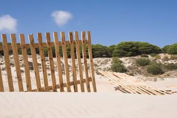 valla del desierto
