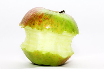 Bit from an apple