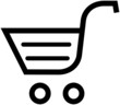 Shopping cart – Vector illustration