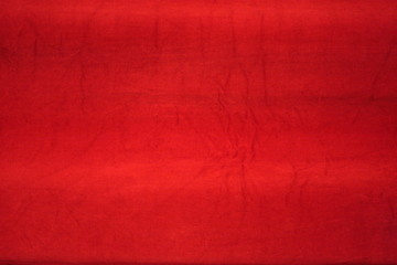 tessuto rosso velluto muleta cinema