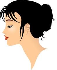 Profilo Ragazza-Jeune Fille Profil-Girl's Profile