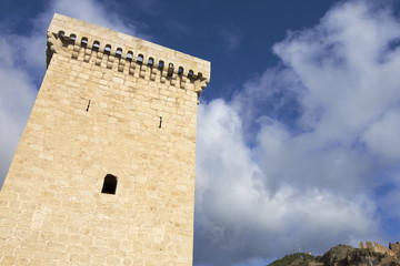 Tower in Daroca, Spain