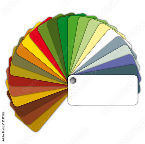 Farbfächer Color Chart