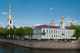 Sightseeing of Saint-Petersburg city, Russia. poster
