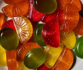 Sugar candies background