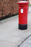 British postbox poster