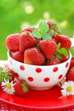 Fototapeta jagoda - świeży - Owoc